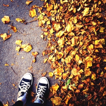 autumn and shoes
