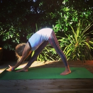 parsvottanasana palms together 2