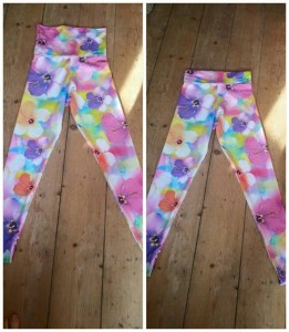 LLL FLOWEERY LEGGINGS