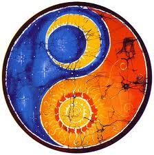 Autumn equinox yin yang