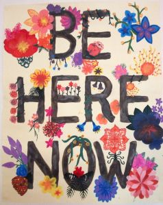 Be-here-now flowery