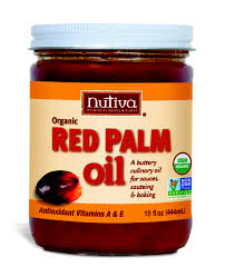 nutvia red palm oil