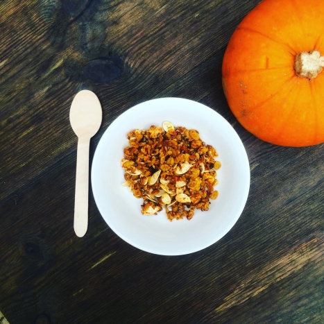 Pumpkin Seed Granola