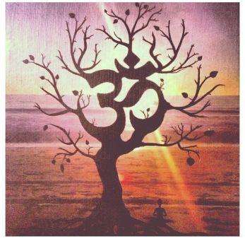 om shanti tree