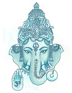 ganesh blue image 2